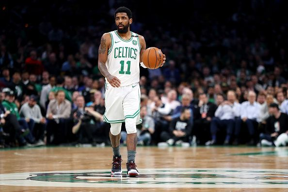 Kyrie Irving had a disappointing two years with the Celtics and is set to leave this summer
