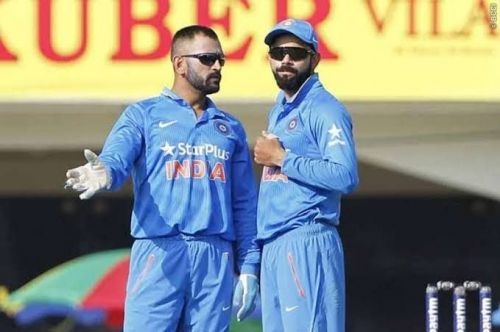 Kohli and Dhoni form a great leadership combination for the current Indian side