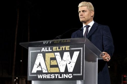 Cody works for AEW