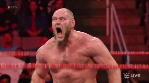 Lars Sullivan destroyed The Lucha House Party on Raw