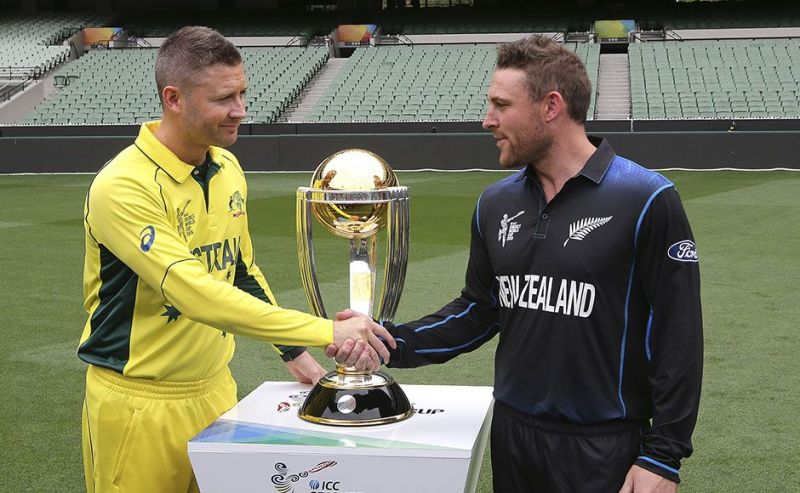 Australia defeated New Zealand in the finals of the 2015 Cricket World Cup to lift their fifth trophy.