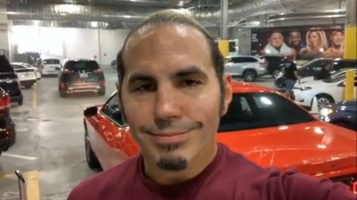 Hardy's new gimmick