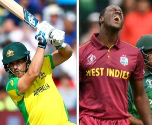 Cwc19, Match 10 - Australia vs west indies