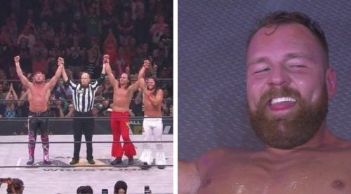 Jon Moxley made his AEW in-ring debut tonight