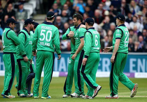 आयरिश टीम