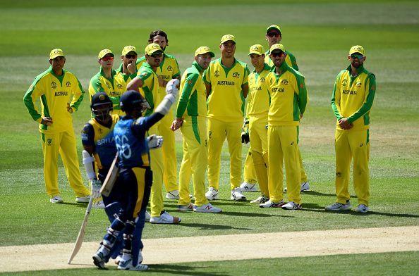 Australia had defeated Sri Lanka in ICC Cricket World Cup 2019 Warm Up match