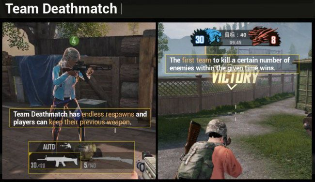 PUBG Mobile Team Deathmatch