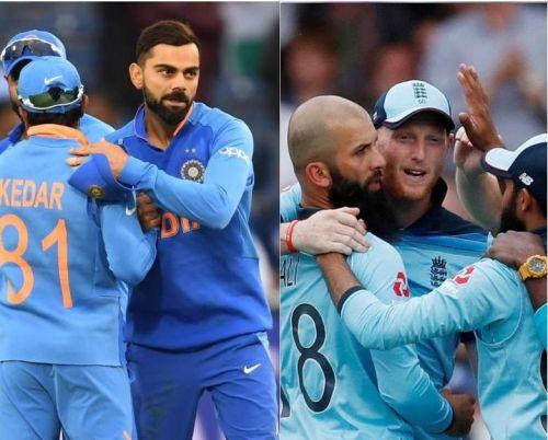 India will take on England on Sunday