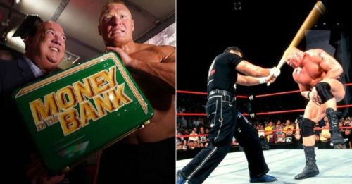 If Brock Lesnar cashes-in tonight it will be his first match on RAW in almost 17 years