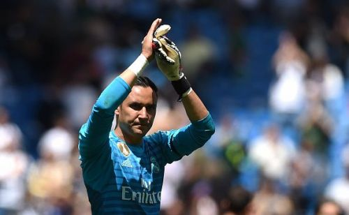 Navas has enjoyed five successful years with Real