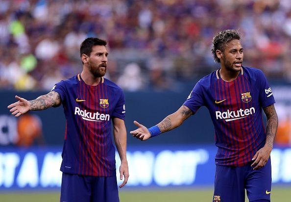 Neymar enjoyed a stellar career during his Barca days