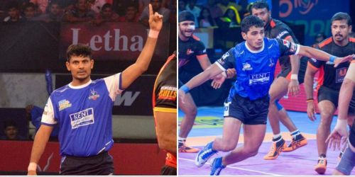 The left raiders Prashant Kumar Rai and Vikash Khandola will form a raiding duo for Haryana Steelers.