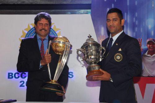 India's WC winning captains (Image Courtesy: BCCI)