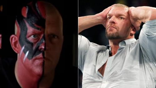 Dustin Rhodes and Triple H first worked together in the 1990s