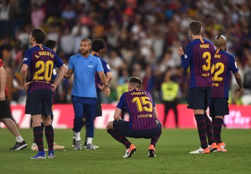 Barcelona's 2018/19 season ended badly