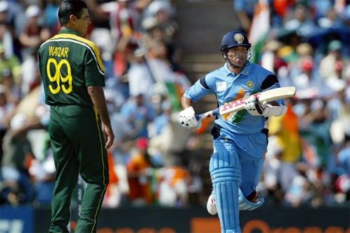 Sachin Tendulkar played his greatest World Cup innings against Pakistan in Centurion