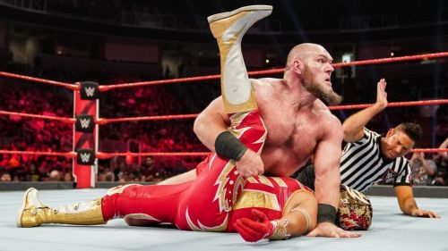 Lars Sullivan dominated the Lucha House Party