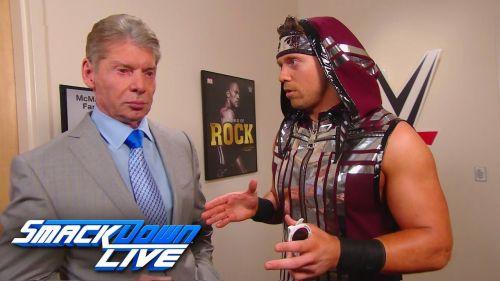 Vince McMahon booked Shane to go over the Miz twice
