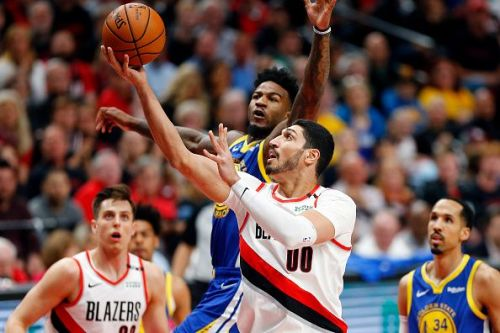 Enes Kanter impressed for the Portland Trail Blazers during the 2019 playoffs