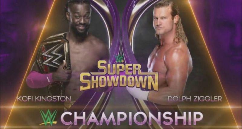 WWE Championship match