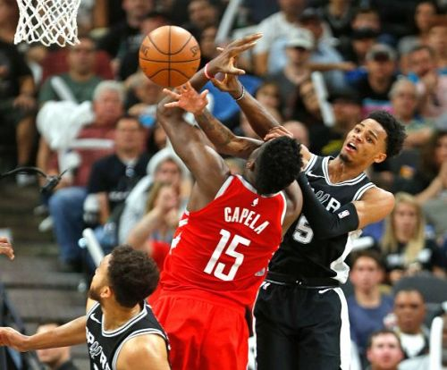 Houston Rockets v San Antonio Spurs