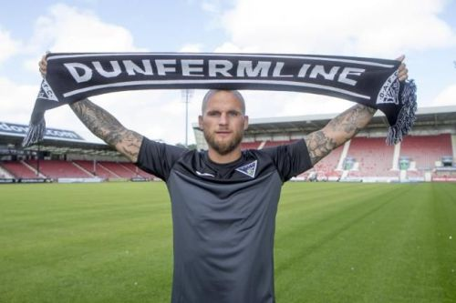 Kallum Higginbotham represented Dunfermline Athletic FC for three seasons
