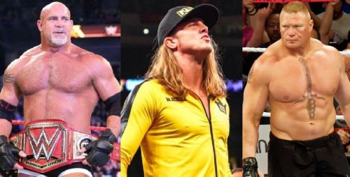 Goldberg, Riddle, and Lesnar