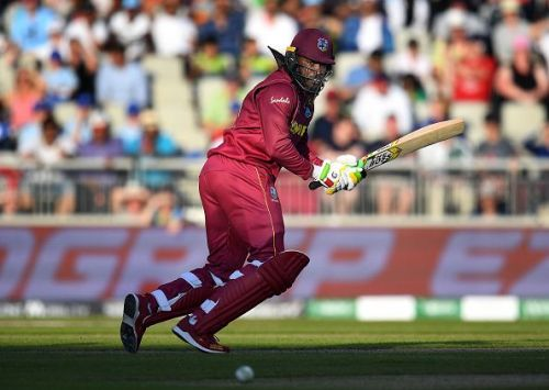 Chris Gayle played a solid knock in the match keeping the West Indies hopes alive