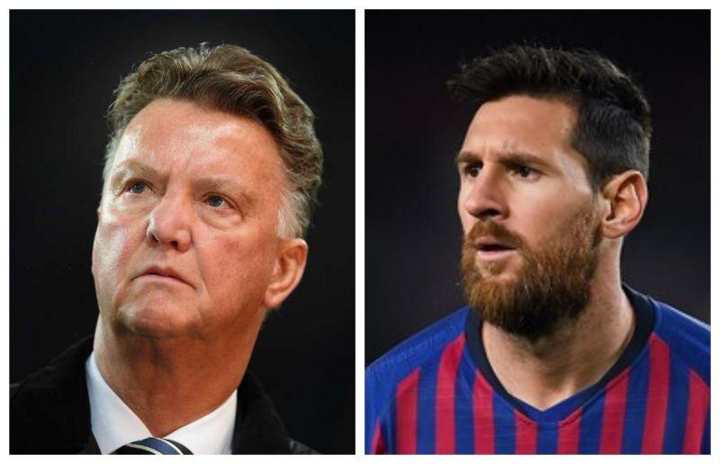 Van Gaal has blamed Messi for Barcelona