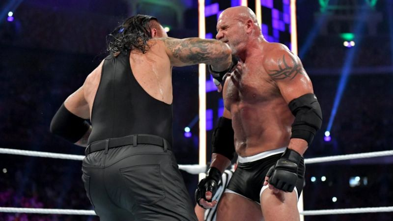 The Undertaker defeated Goldberg in Saudi Arabia