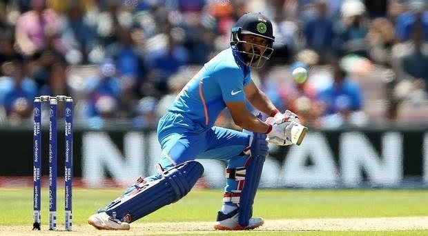 Jadhav scored a crucial half-century against the Afghans