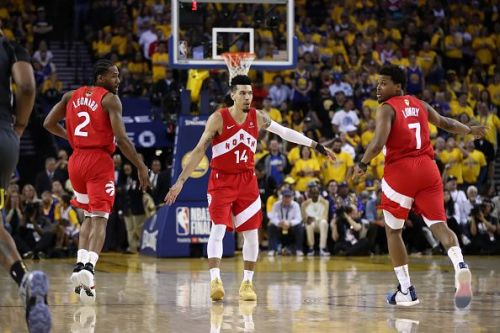The Raptors have now taken a 3-1 lead over the Warriors