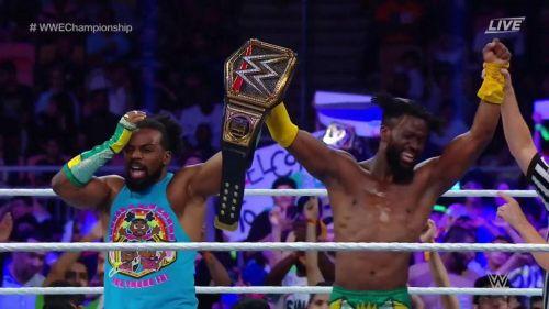 Kofi Kingston retained his Championship via a botch