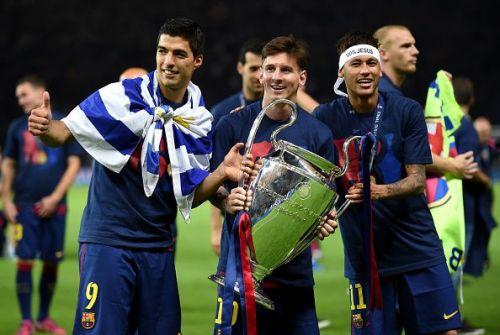 Neymar helped Barcelona win the Champions League in 2015