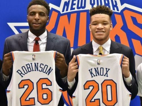 Knicks' 2018 draft picks Mitchell Robinson and Kevin Knox