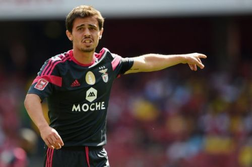 Benfica v Valencia - Emirates Cup. Bernardo's final appearance for the club