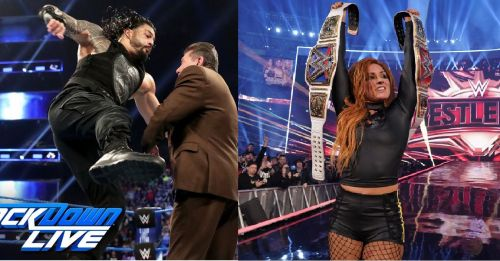 Anything can happen in WWE!