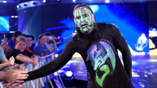 Jeff Hardy was one of the most popular stars in 2009.
