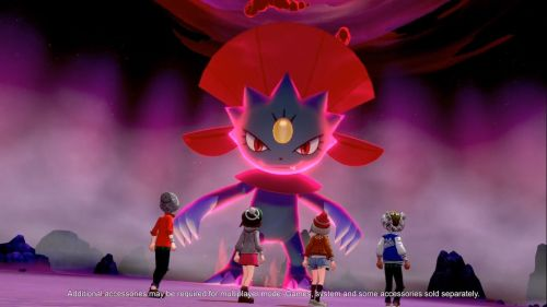 Dynamax Weavile against 4 players
