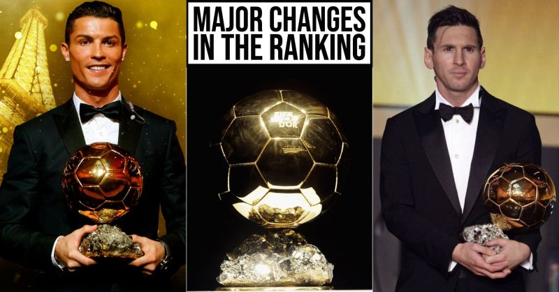 Massive changes in Ballon d'Or Rankings as the season comes to an end