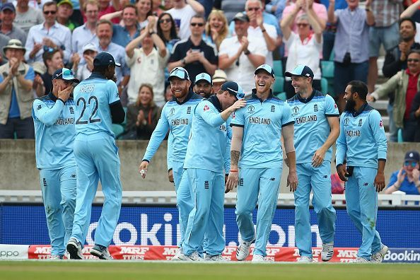 England Cricket Team- High on Confidence