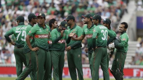Bangladesh played their first match of this World Cup against South Africa at the Oval.