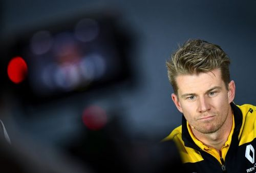 F1 Grand Prix of Azerbaijan - Hulkenberg looks pensive, but it would all change at Canada