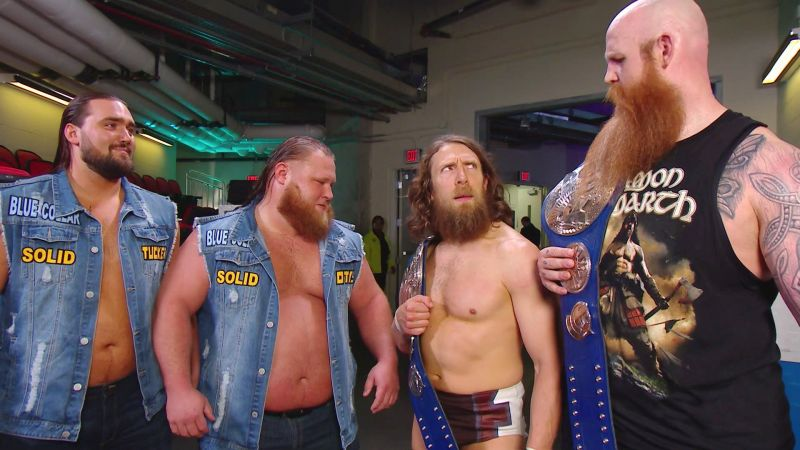 Heavy Machinery wants a shot at the SmackDown Tag Team Champions.