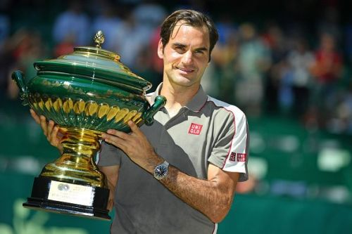 NOVENTI OPEN 2019 - Roger Federer with his 10th title at Halle