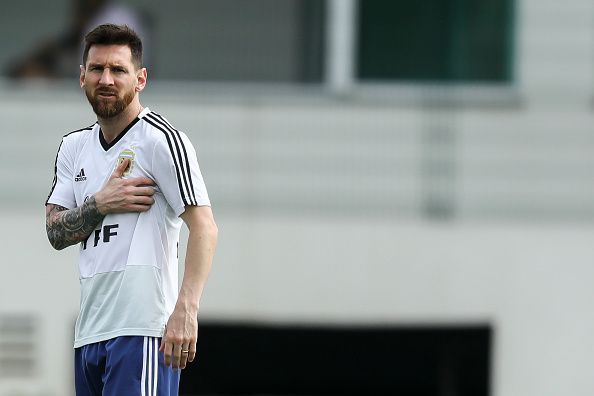 Argentina Press Conference & Training Session - Copa America Brazil 2019