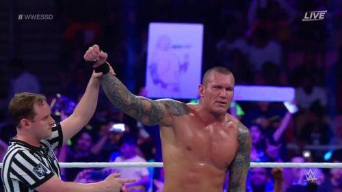 Orton vanquished his mentor The Game Triple H at WWE Super Showdown in Jeddah, Saudi Arabia.