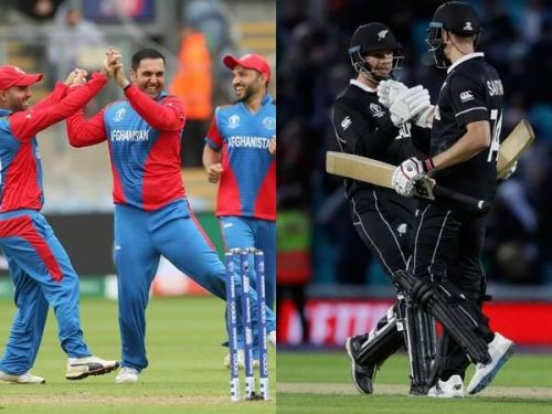 Afghanistan plays New Zealand at Taunton on Saturday.