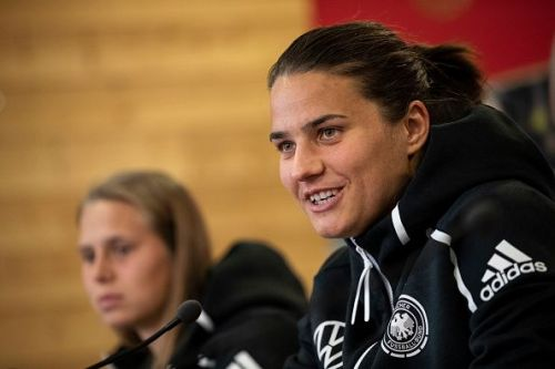 Dzsenifer Marozsan will carry German hopes at the World Cup