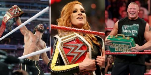 WWE Stomping Grounds 2019: Seth Rollins, Becky Lynch, Brock Lesnar